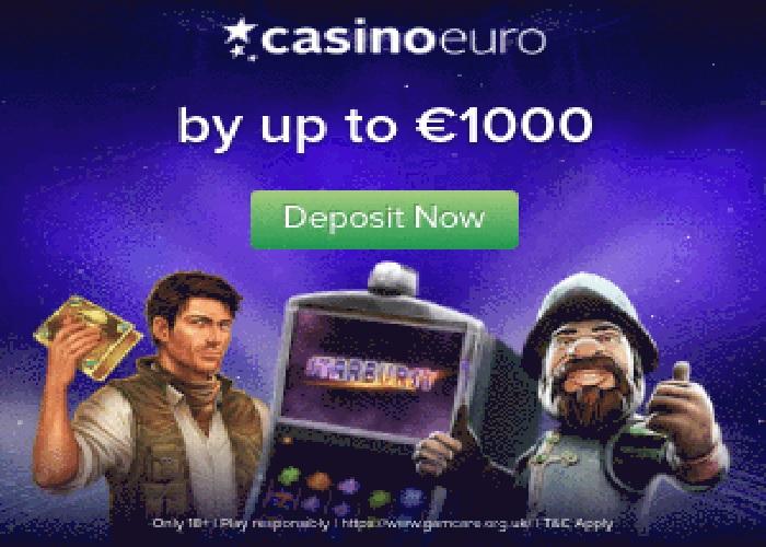 Bonusy CASINO EURO ONLINE BONUS