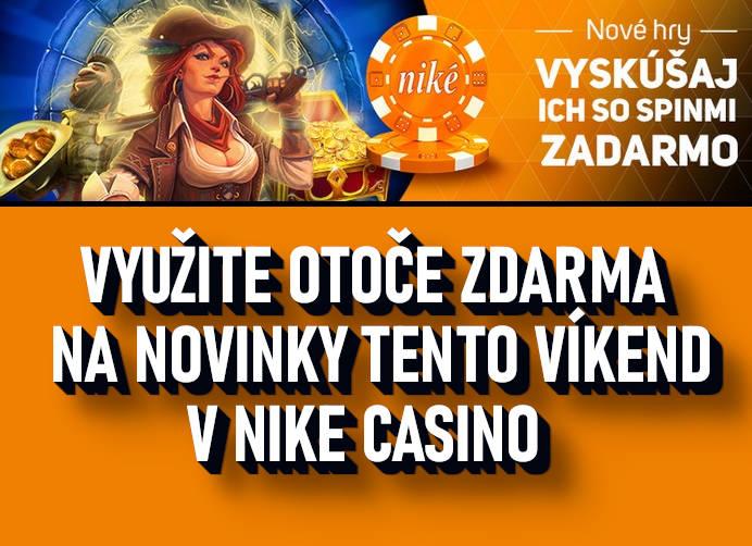 Bonusy Nike Casino Bonus na víkend
