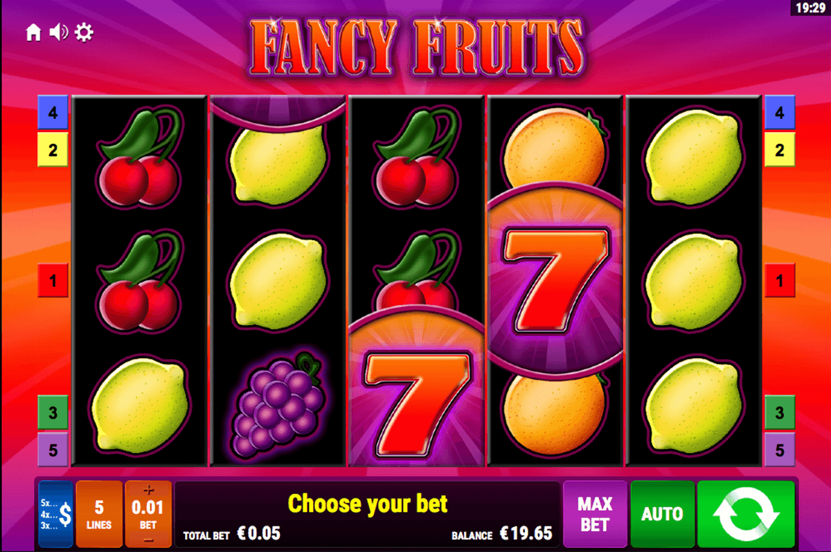 Hrat FANCY Fruits Online Hra