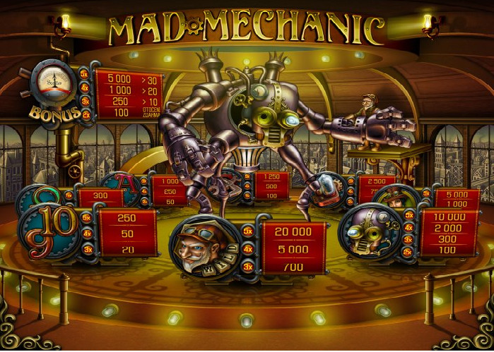 Hrat Mad Mechanic DELUXE od Apollo Games