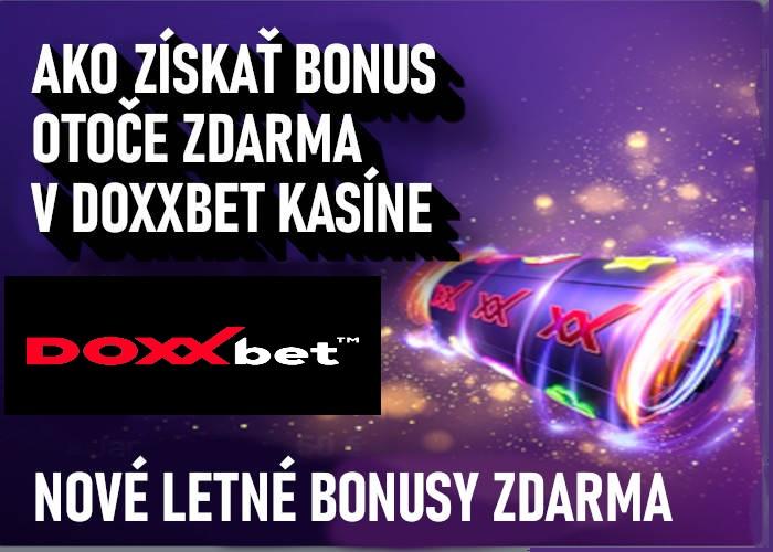 Doxxbet kasino free spiny bez nutnosti vkladu