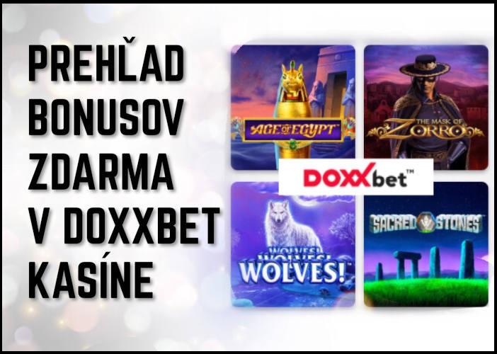 Prehľad bonusov v Doxxbet kasíne | Doxxbet slovenské online kasino