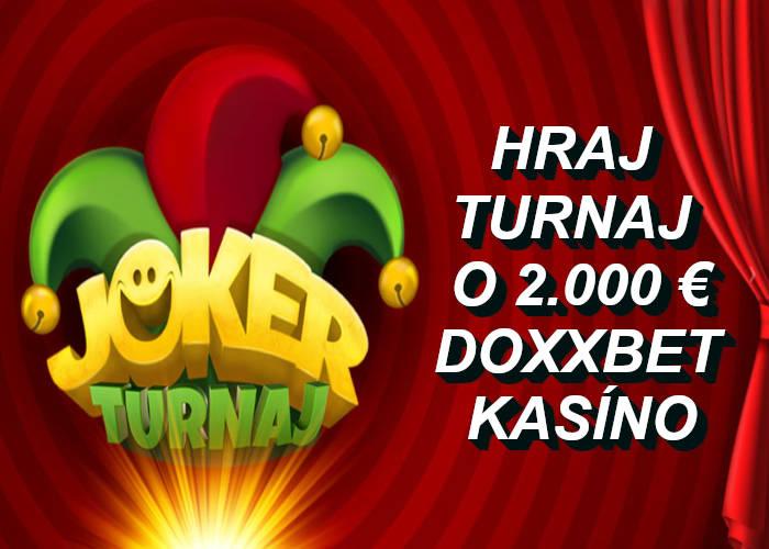 Joker Turnaj Doxxbet kasíno