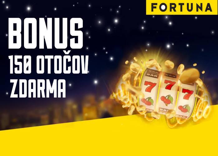 Fortuna kasino bonus 150 otočov zdarma | Registrujte sa vo Fortuna online kasino