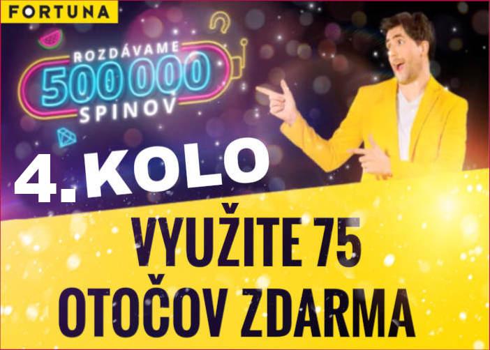 Fortuna kasino 4 kolo bonus free spiny