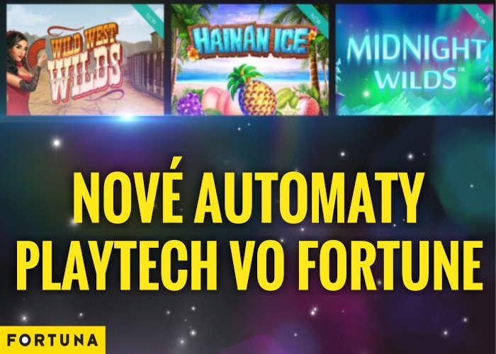 Fortuna kasino nové playtech automaty