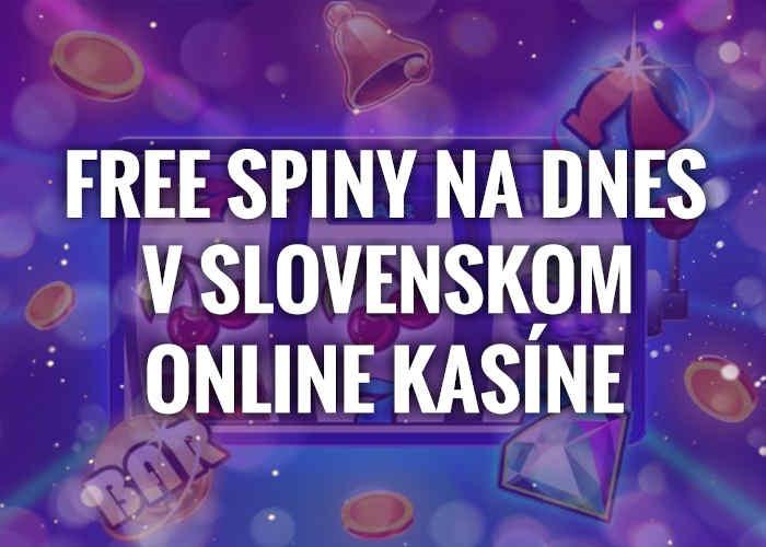 Free spiny na piatok v online kasino