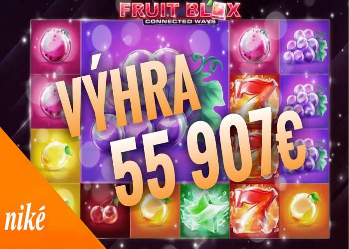 Fruit Blox recenzia Nike automat