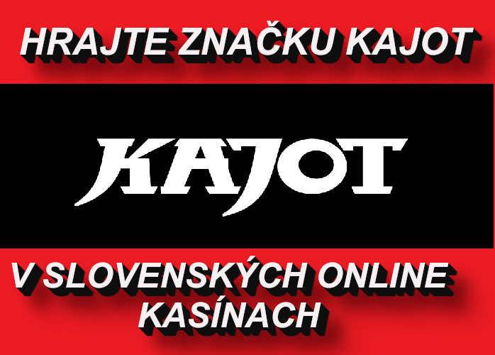 Kajot online automaty v Slovenských online kasinach | Hrajte Kajot automaty zadarmo