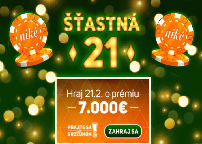 Online Blackjack v Nike kasino o 7.000 eur | casino-online.sk