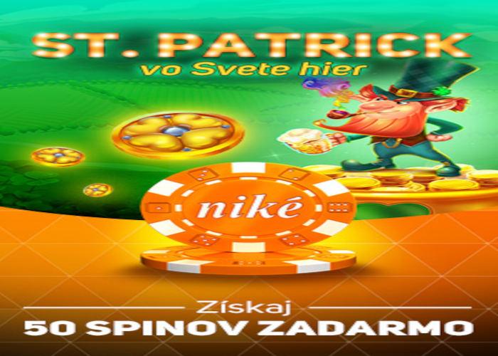 Bonus na Sv. Patricka v Nike casino
