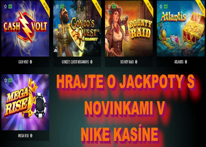 Nike kasíno nové online automaty