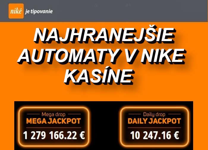 Nike Kasino najlepšie online automaty | casino-online.sk