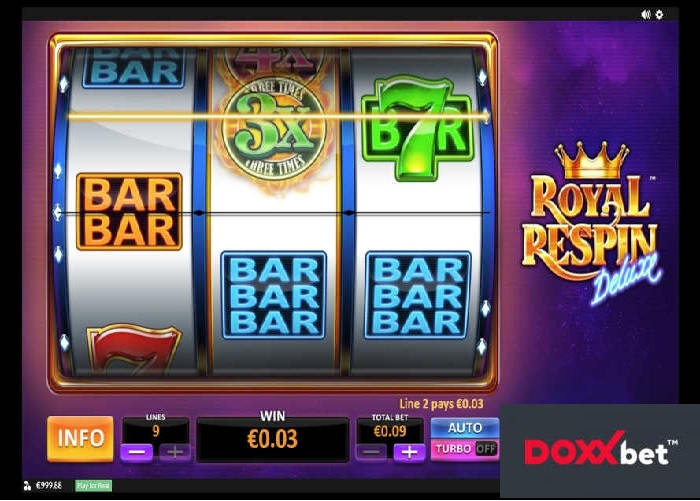 Royal Respin Deluxe online automat | Doxxbet online kasino