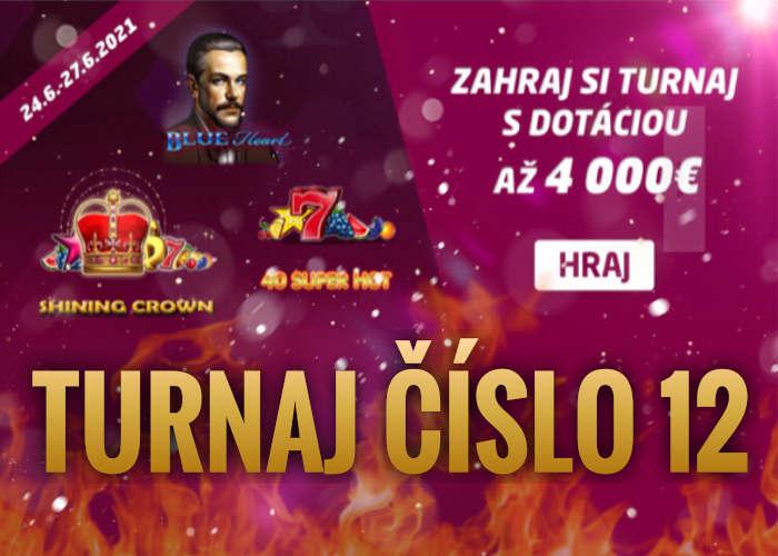 Synot Tip Online Casino turnaj 12 v hraní online automatov Synot