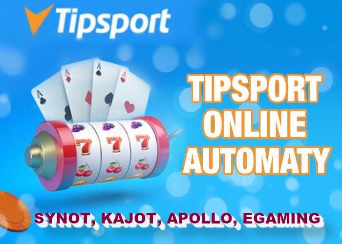 Aké automaty nájdete v Tipsport kasíne? | Hrajte Tipsport a zabavte sa