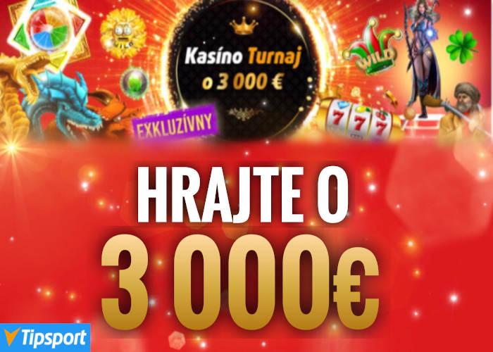 Tipsport kasino turnaj v hraní online automatov