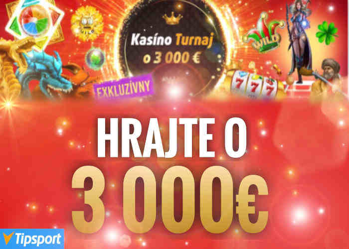 Tipsport kasino turnaj online automaty