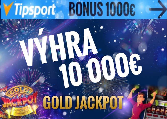 Tipsport kasíno výhra v jackpote