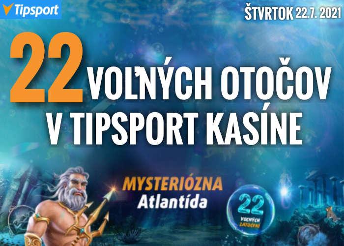 Free spiny bonus v tipsport kasíno zdarma