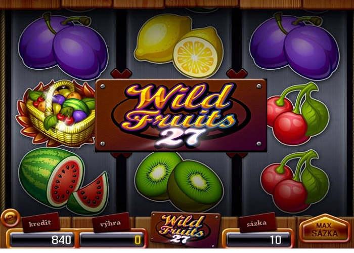 Wild Fruits 27 online automat recenzia